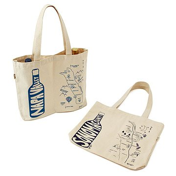 Double Wine Tote - California