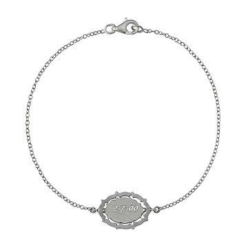 Custom Spinning Calligraphy Bracelet
