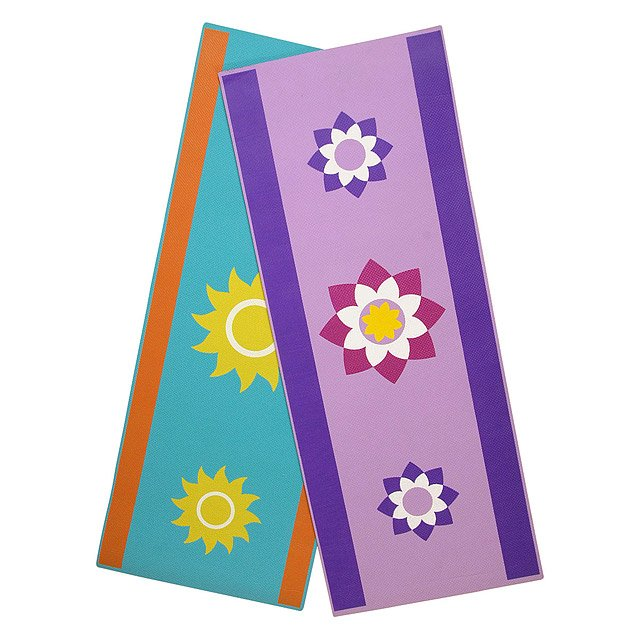 Lotus and Sun Children's Yoga Mat 2