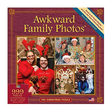 Awkward Family Photos Christmas Puzzle