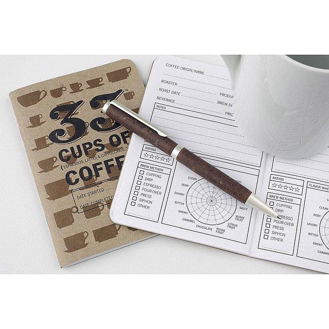 Coffee Tasting Notebook and Pen Set 2