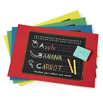 Education Chalkboard Placemat