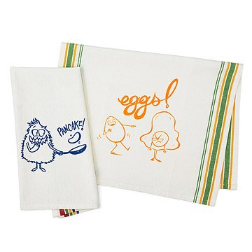 Pancake & Eggs Towel Set