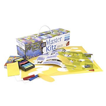 Water Lilies Master Art Kit for Kids