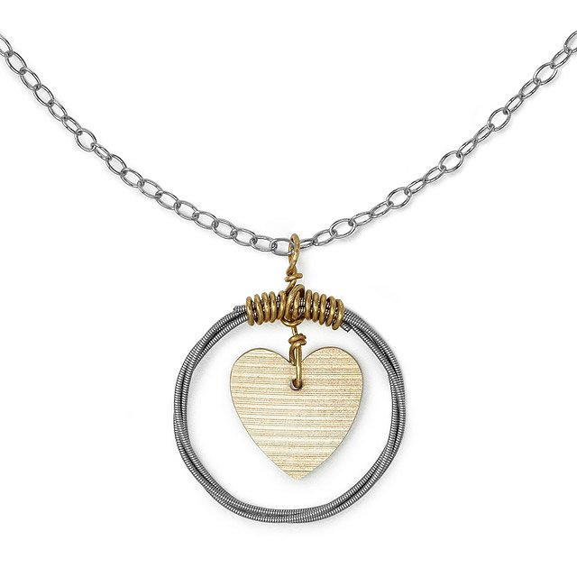 Cymbal of Love Pendant