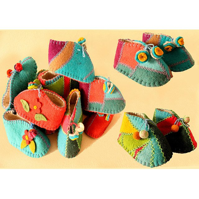 Patchwork Booties 2