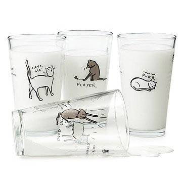 Cat Tao Glasses - Set of Four