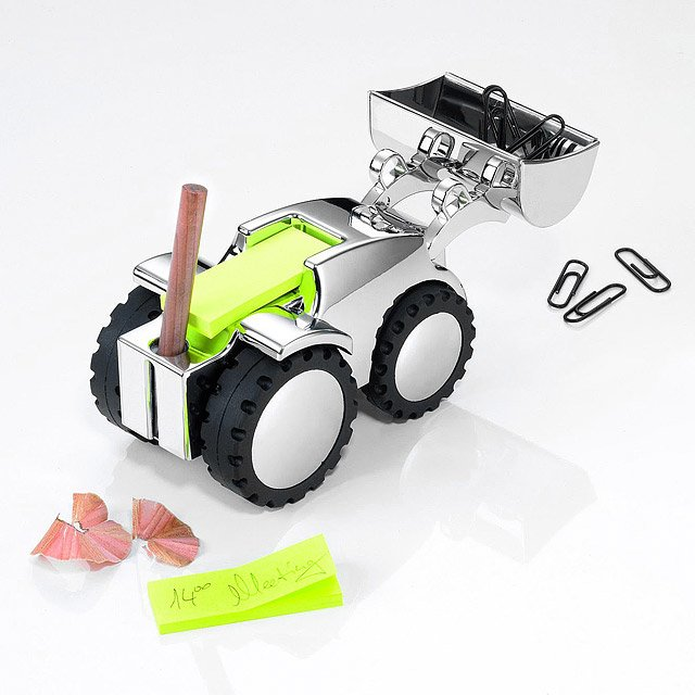 Digger Mechanical Paperweight 2