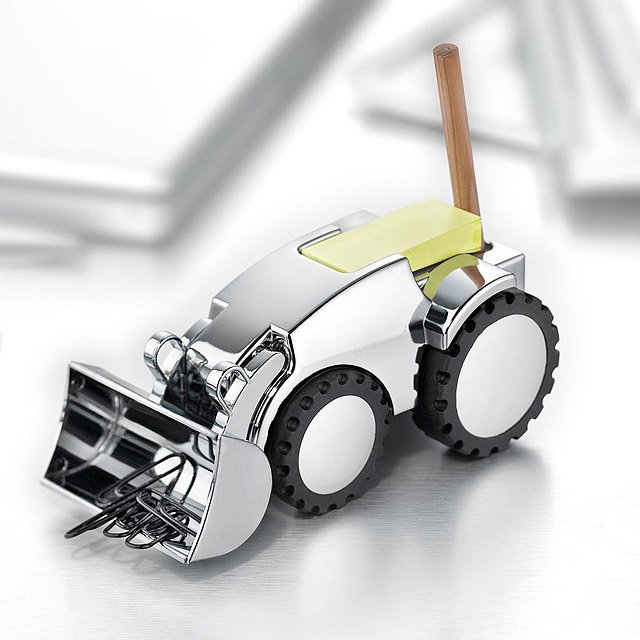 Digger Mechanical Paperweight 3