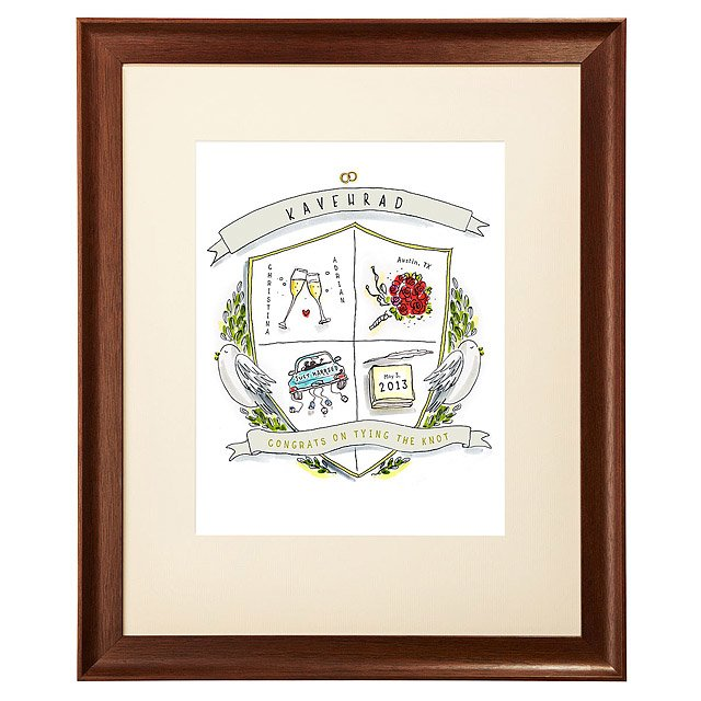 Personalized Wedding Crest 2