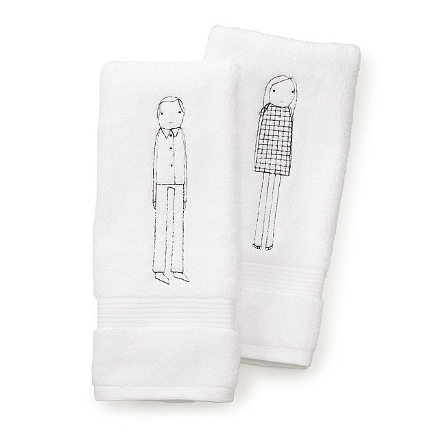 His or Her Hand Towel