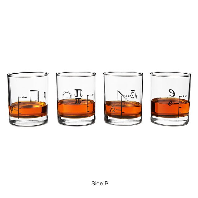 Math Glasses - Set of 4 3