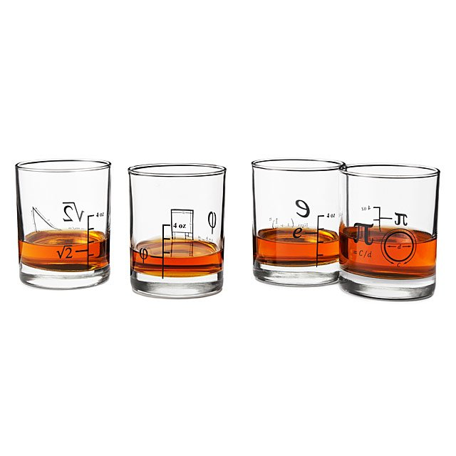 Math Glasses - Set of 4 4
