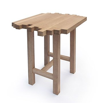 White Oak End Table