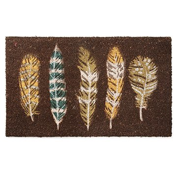 Floating Feathers Doormat