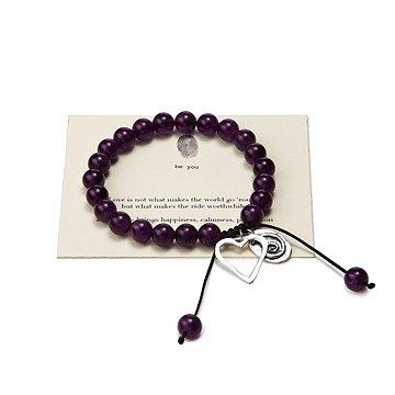 Love Makes the Ride Worthwhile - Stone Bracelet