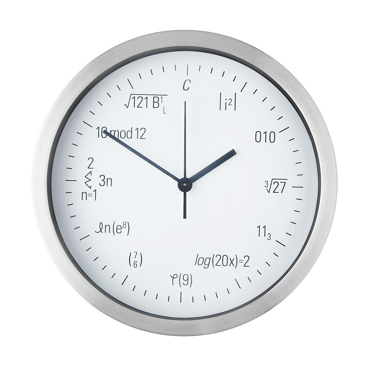 worksheet Clock Math equation geek clock math formula for geeks uncommongoods 1 thumbnail
