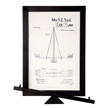 SeeSaw Patent Wall Art