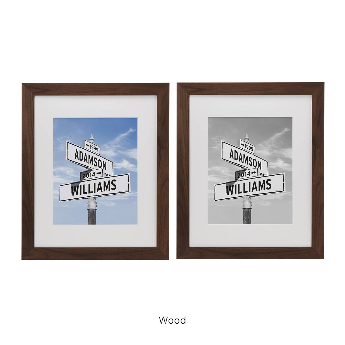 product intersection love photo print