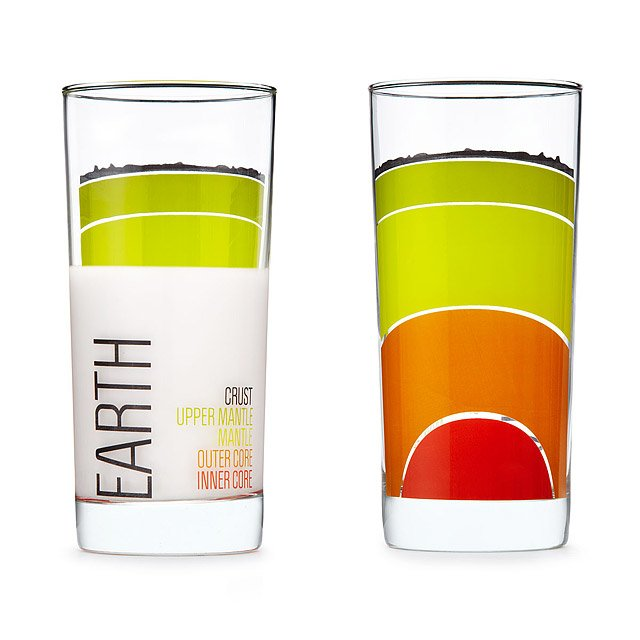 Earth Science Glasses - set of 4 2