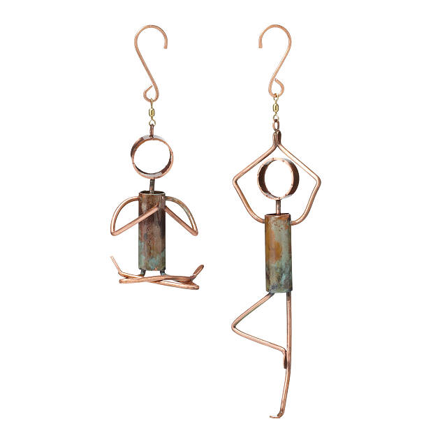 Yoga Pose Hanging Sculptures 2