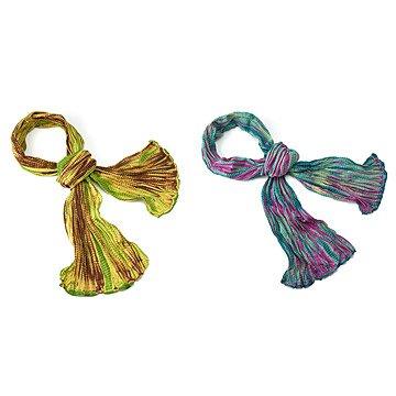 Shibori Tie-Dye Scarves