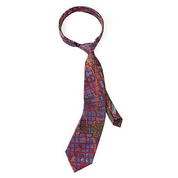Washington, D.C. Map Tie