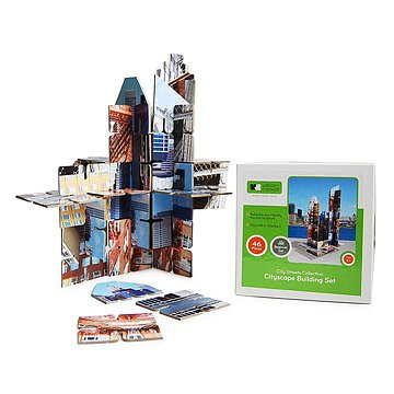 Cityscape Cardboard Building Set
