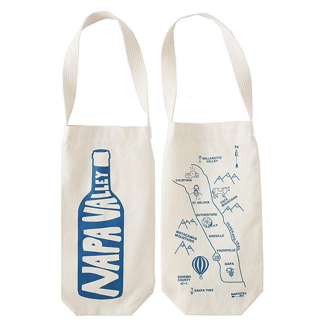 Single Wine Tote - Regions 3