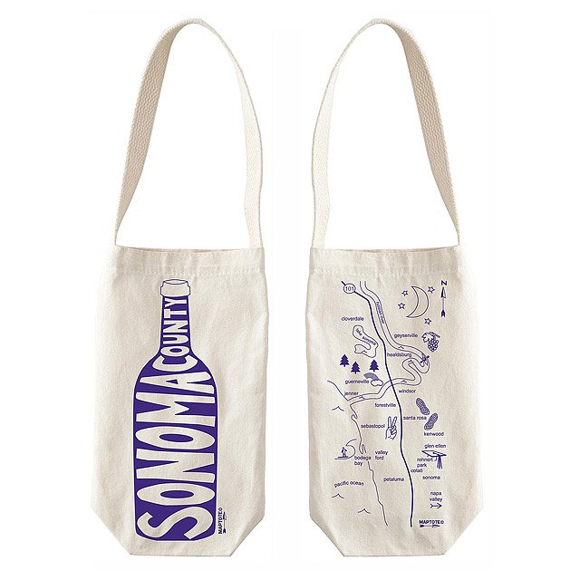 Single Wine Tote - Regions 4