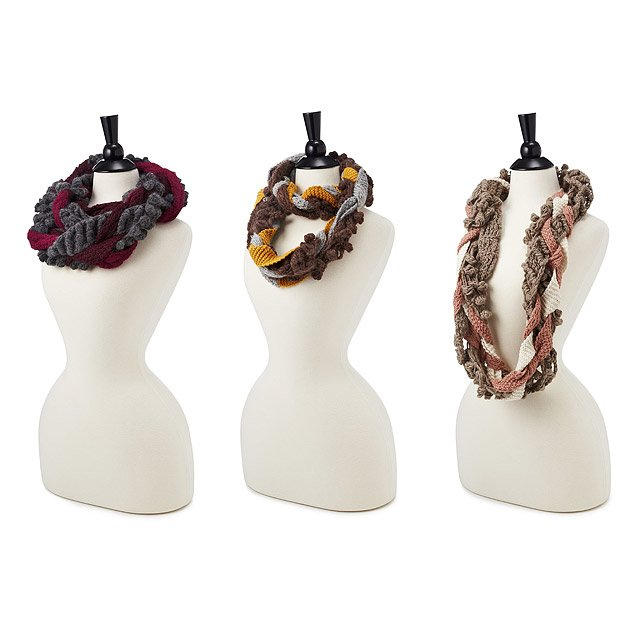 Braided Infinity Scarves 2