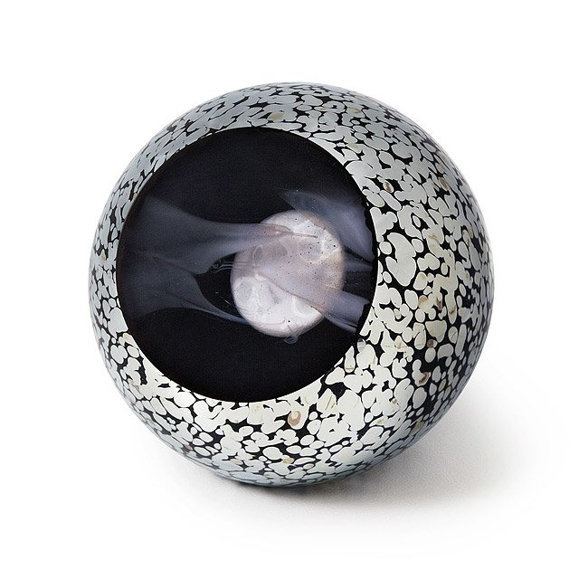 Full Moon Glass Paperweight