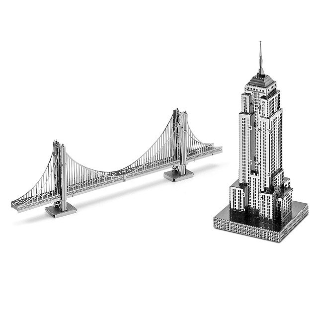 Lightweight Steel Building Kit - U.S. Monuments