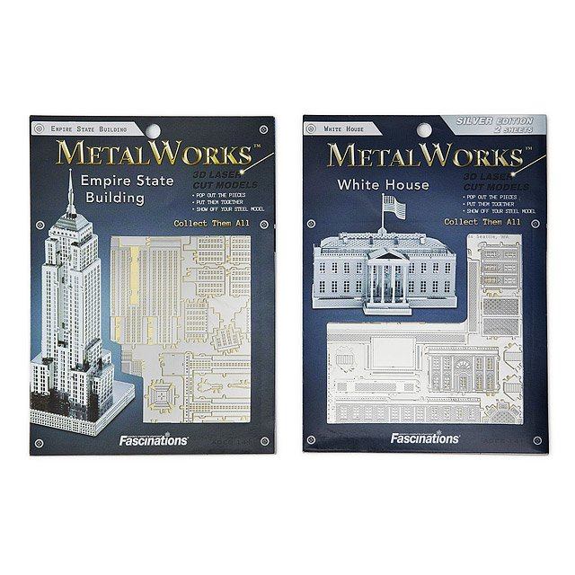 Lightweight Steel Building Kit - U.S. Monuments 3
