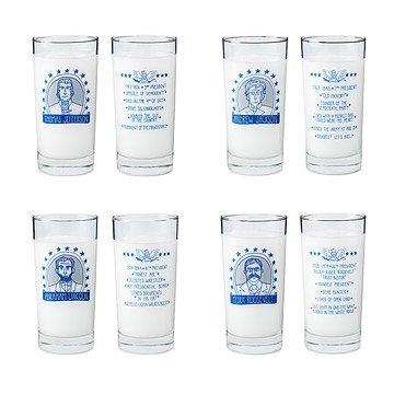 Presidential Glasses - Set of 4