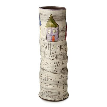 Home Tall Cylinder Vase