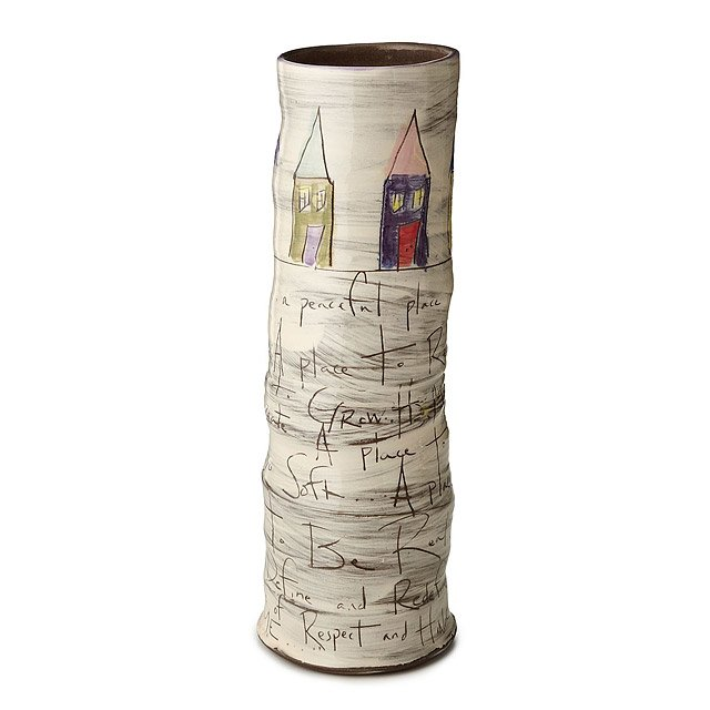 Home Tall Cylinder Vase 2