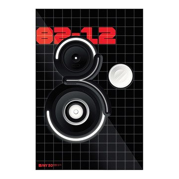 AIGA/NY 30th Anniversary Poster - Triboro