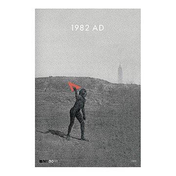 AIGA/NY 30th Anniversary Poster - Paul Sahre