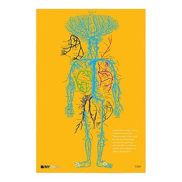 AIGA/NY 30th Anniversary Poster-Alexander Isley