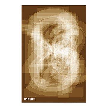 AIGA/NY 30th Anniversary Poster - Mirko Ilic