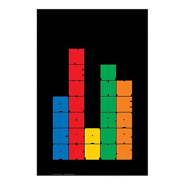 AIGA/NY 30th Anniversary Poster-Ivan Chermayeff