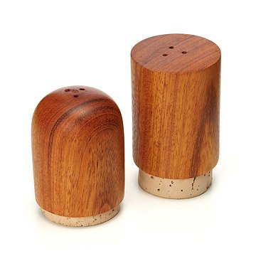 Wooden Salt and Pepper Shaker Set