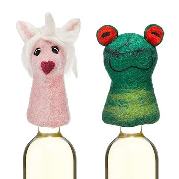 Fairytale Felt Bottle Toppers