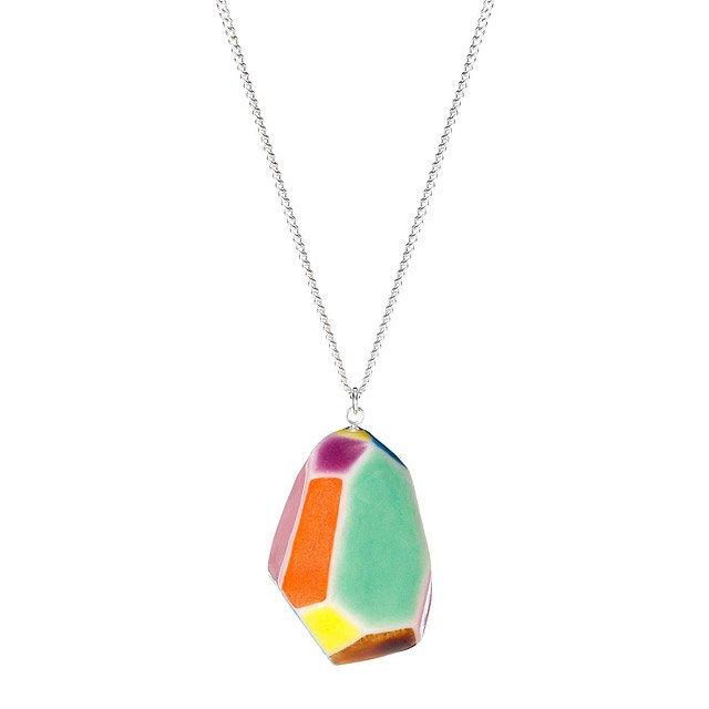 Large Faceted Pendant