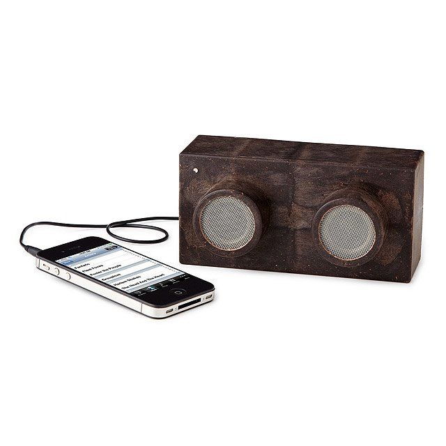 Earth Block Speakers