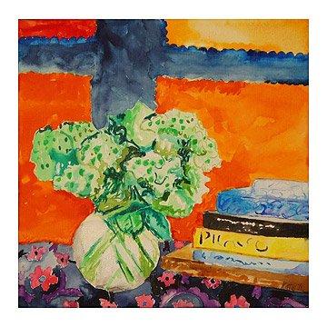 Green Flowers - Kate Lewis