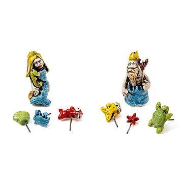 Sea Creature Terrarium Figurines