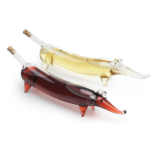 Wiener Dog Oil and Vinegar Set