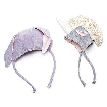 Sweet Bunny and Unicorn Hats